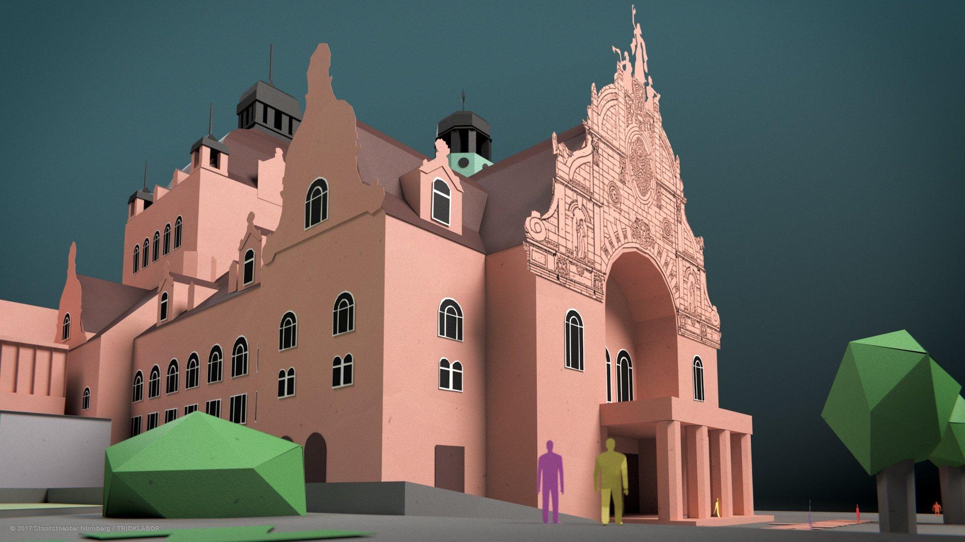 3d Animation Nürnberg staatstheater nürnberg upgrading the opera house tricklabor
