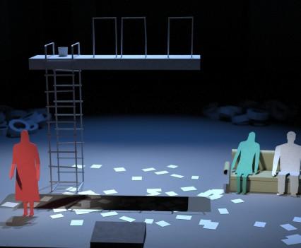 Paper version of 'Die Walküre' opera